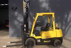 HYSTER H2.5TX Counterbalance Forklift with Sideshift
