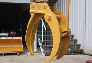 A Range of Rotating Grabs and Grapples for Excavator