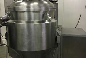 Vacuum Mixing Dispersing Homogenising Machine for Pharmaceutical, Cosmetic and Food Manufacture