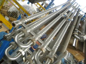 Stainless Steel Spiroflow Shell and Tube type