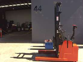 BT Staxio Electric Mini Reach Walkie Stacker - Fully Refurbished & Repainted - picture0' - Click to enlarge