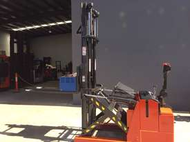 BT Staxio Electric Mini Reach Walkie Stacker - Fully Refurbished & Repainted - picture2' - Click to enlarge