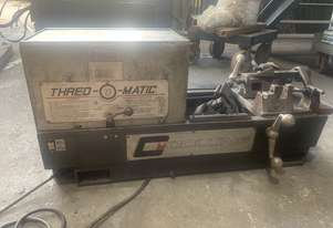 collins thread o matic pipe threader 22a