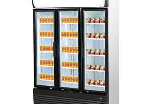 Triple Door Upright Glass Door Combined Fridge & Freezer LG-1200GEF
