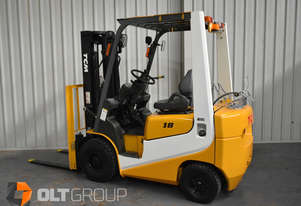 TCM 1.8 Tonne Forklift 987 Low Hours Ex-Liquor Store One Owner Container Mast