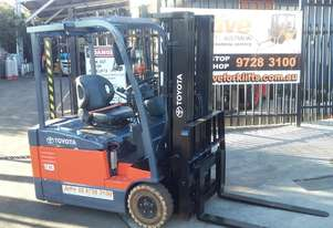 *EOFY SPECIAL SALE* TOYOTA Electric Forklift 2012 1.8 Ton Container Entry