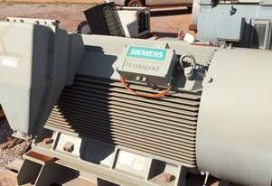 380 kw 500 hp 6 pole 6600 volt 400 frame Siemens AC Electric Motor