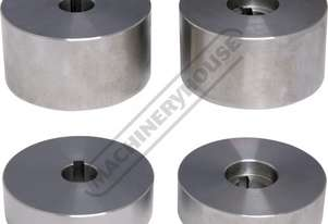 MBR-2BK Blank Bead Roller Sets 1 x (Ø85 x 46mm Set) & 1 x (Ø85 x 25mm Set) Suits MBR-610 & MBR-107