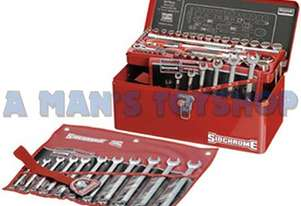 TOOLKIT 69PCE METRIC/AF CARRY  BOX