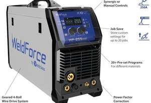 Weldforce 255 MST Multiprocess Synergic Inverter Mig
