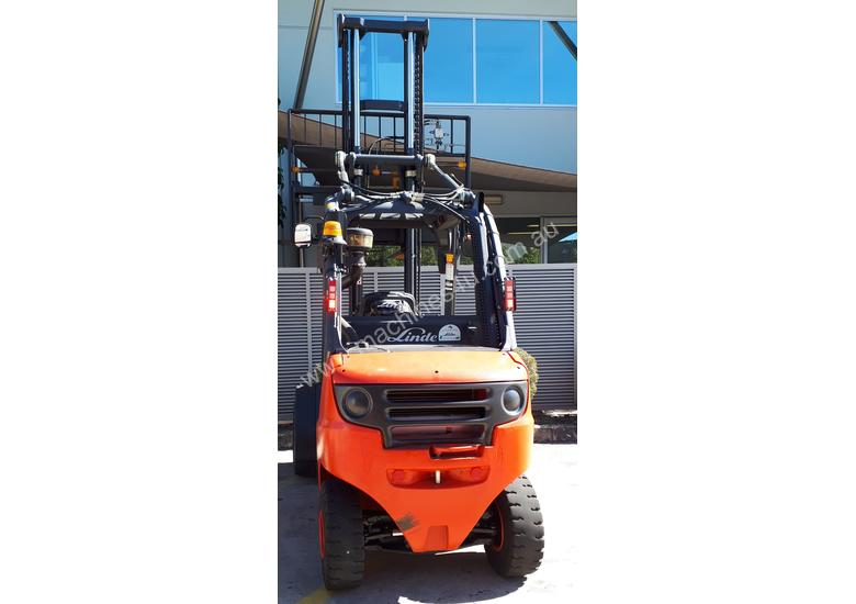 Used Forklift:  H35D Genuine Preowned Linde 3.5t