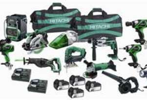 Hitachi Cordless Super Mega Pack (Slide)