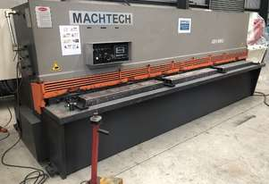 Used Machtech ASB 8-4000BA Guilotine with sheet supports and ballscrew backgauge