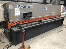 Used Machtech ASB 8-4000BA Guilotine with sheet supports and ballscrew backgauge - picture0' - Click to enlarge