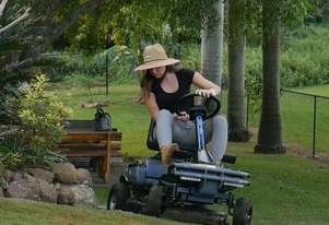 Cox iQ Fully Electric Ride On Mower