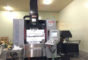 Wele 5 Axis Machining Center