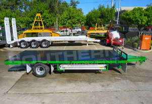 Interstate trailers 9 Ton Single Axle Flatbed Trailer ATTTAG