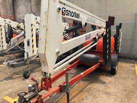 34FT TRAILER MOUNTED BOOM LIFT SNORKEL - picture0' - Click to enlarge