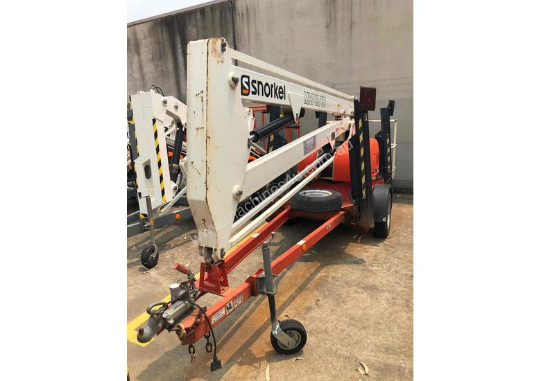 34FT TRAILER MOUNTED BOOM LIFT SNORKEL