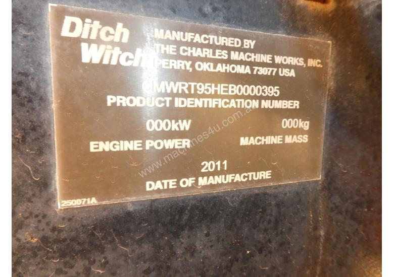 Ditch Witch RT95 Trencher