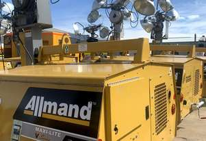 Used Allmand Max-Lite Lighting Tower 8KW for sale 5 available for Sale
