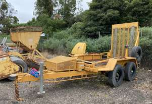 Cattanach Tandem Trailer for Cat CC34 Roller
