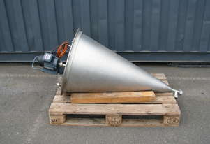 Stainless Steel Mixer Mixing Tank Cone - 95L