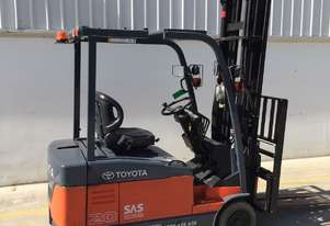 Toyota 2.0 Ton Electric Forklift