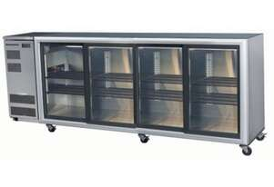 Skope BB780 4 Glass Sliding Door Fridge