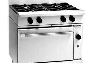Waldorf 800 Series RNL8910G - 900mm Gas Range Static Oven Low Back Version