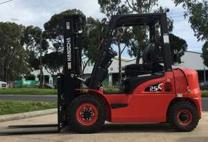 Brand new Hangccha 2.5 Ton Dual Fuel X Series Forklift