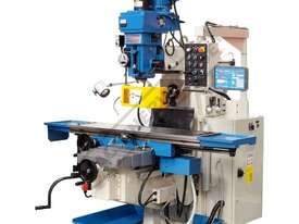 BM-90HV Turret Milling Machine - Horizontal - Vertical  (X) 1120mm (Y) 520mm (Z) 440mm Includes Digi - picture0' - Click to enlarge