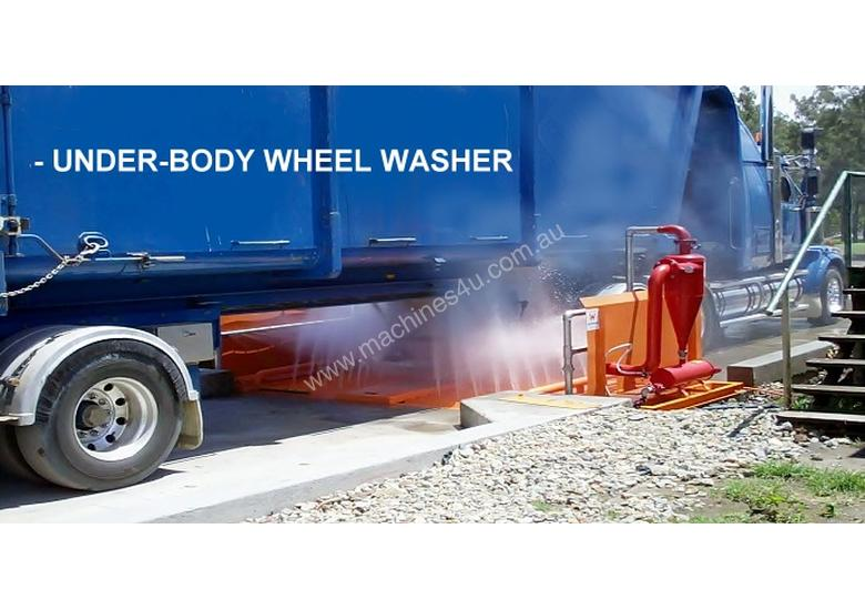 Underbody Wheel Washer