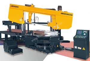 Everising Mitre Cutting Bandsaw | Heavy Duty Dual Column Series