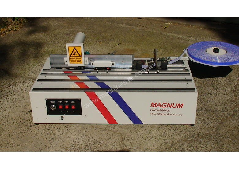 New Magnum HA200 Edgebander with CORNER ROUNDING