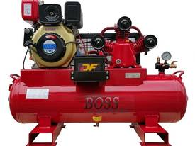 BOSS 20CFM/ 6HP DIESEL AIR COMPRESSOR ON 112L TANK - picture0' - Click to enlarge