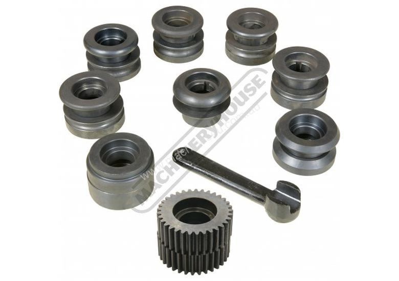 IK-1.2 Swage and Jenny - Manual  1.2mm Mild Steel Thickness Capacity Includes 9 Sets Of Rolls