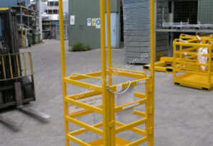 Crane Cage with Roof (1 Man)