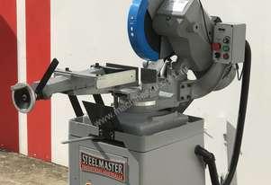 Industrial Mitre Cutting 350mm Coldsaw, Stand & Coolant