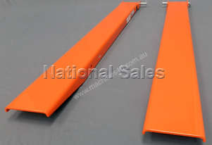 Forklift Slippers Fork Extensions 2000mm x 100mm