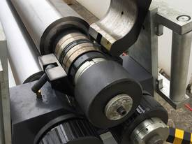 2500mm x 3mm Roller With End Stub Rollers - picture3' - Click to enlarge