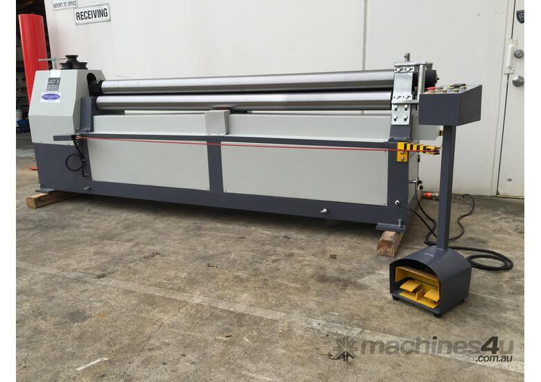2500mm x 3mm Roller With End Stub Rollers