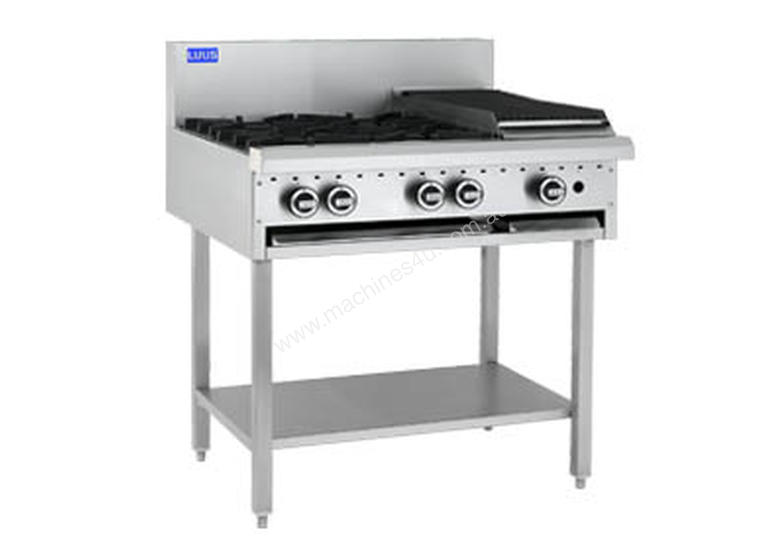 Luus Model BCH-4B3C - 4 Burners 300 BBQ Char and Shelf