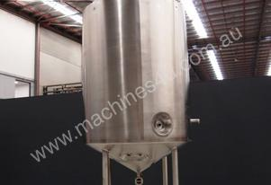 Stainless Steel Jacketed Mixing Capacity 3,500Lt