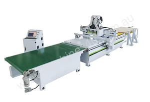 CNC Router, Loader and unloader R-F3 by Samach