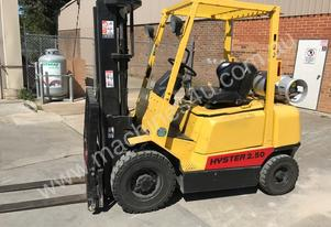 Used Hyster 2.5 tonne LPG forklift for sale