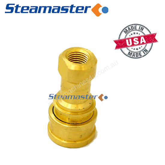 Polivac MKII Carpet Extractor 1/4F Brass Quick Cou