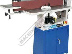 Slik 7.0b Oscillating Belt Sander Includes Cabinet Stand 150mm Belt Width - picture0' - Click to enlarge