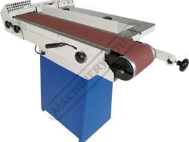 Slik 7.0b Oscillating Belt Sander Includes Cabinet Stand 150mm Belt Width - picture4' - Click to enlarge