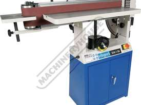 Slik 7.0b Oscillating Belt Sander Includes Cabinet Stand 150mm Belt Width - picture9' - Click to enlarge